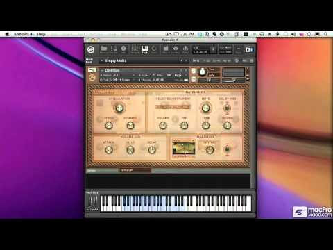 how to add kontakt libery