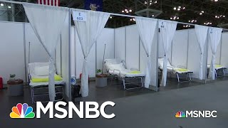 Javitz, USNS Comfort Slow To Take On Patients From Beleaguered NYC | Rachel Maddow | MSNBC