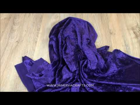 Crushed Velour Dress Fabric