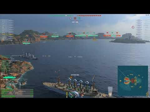 World of warships - St.Louis DEATHMATCH