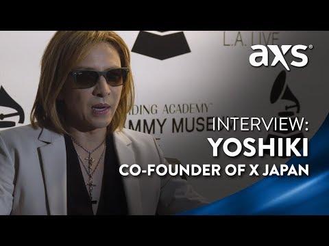 Yoshiki of X Japan: Exclusive Interview