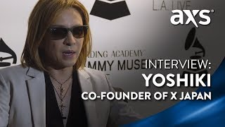 Yoshiki, the co-founder of the most successful rock band in Japanes...