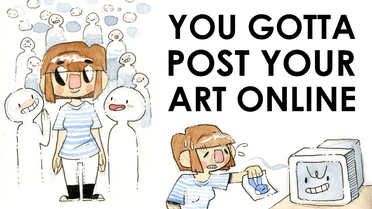 Scared Benefits To Posting Your Art Online You