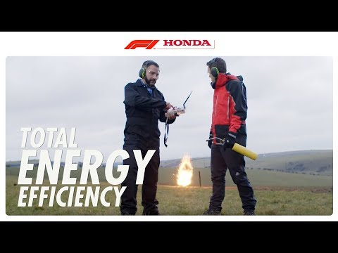 Total Energy Efficiency I The F1 Power Unit Explained I Honda Racing F1