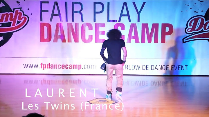 les twins  kenzo alvares  judges demo  fair play dance camp 2012