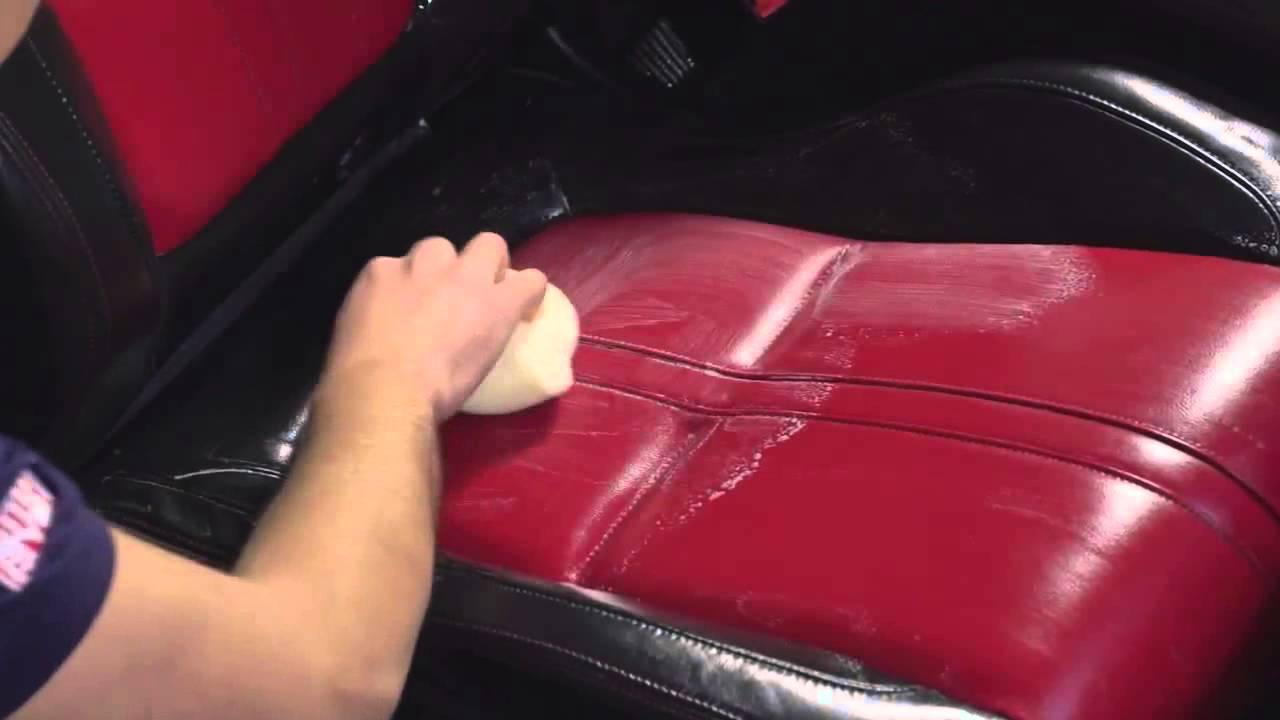 How To Clean Car Leather Seats Youtube