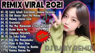 DJ Hits Viral TikTok Terbaru 🎶 2021-DJ Sakit Sekali Everybody Damon Vacation DJ Cantik Remix 😊😜😍