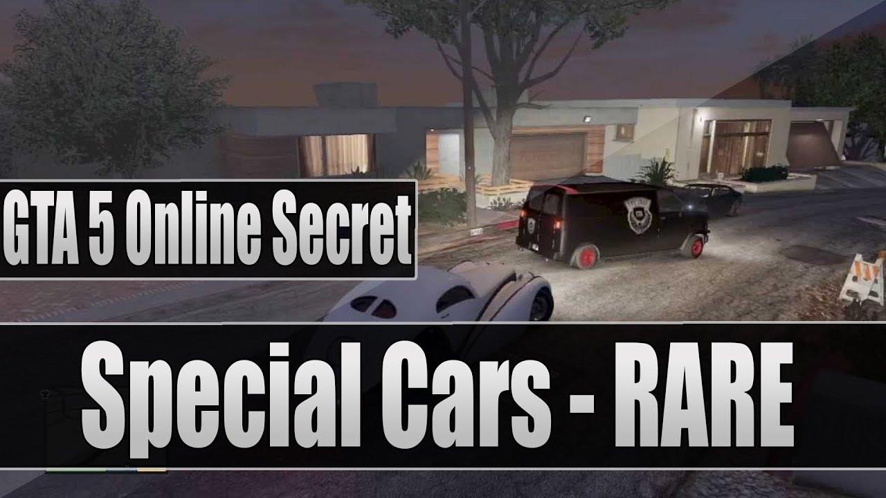 GTA 5 Online Secret: Special Cars