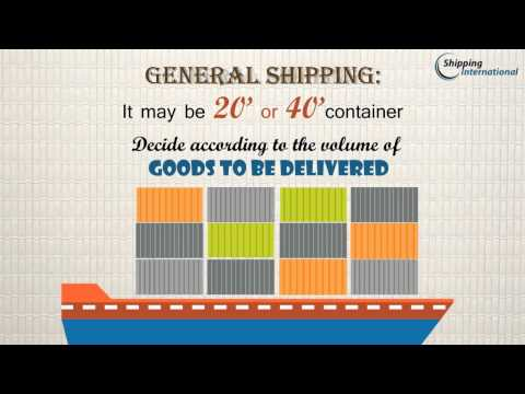 Process of International shipping of personal goods