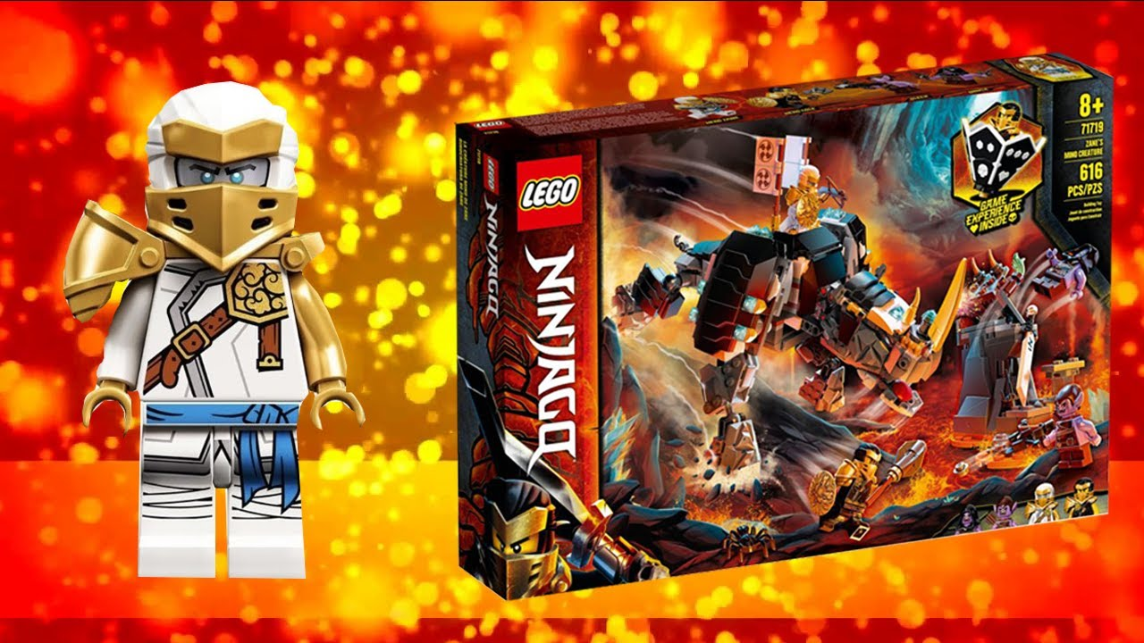 Lego Ninjago Обзор На 71719 Бронированный Носорог Зейна Мино