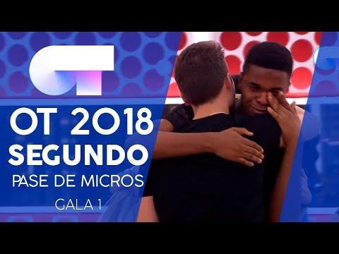SEGUNDO PASE DE MICROS COMPLETO (24 SEP) | Gala 1 | OT 2018