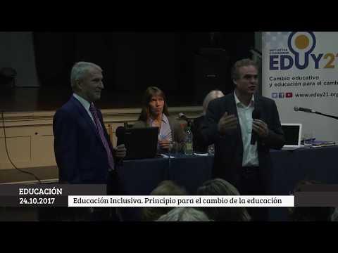 Educación inclusiva. Mel Ainscow. EDUY21