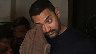 My wife is scared in India, she talks about leaving the country, says Aamir Khan
