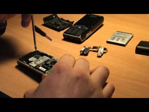 Sony Ericsson K800i repair (display change) HD1080