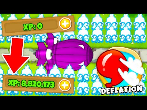 FASTEST Way to Get XP in Bloons TD 6?!   Ultimate XP Tutorial for BTD 6