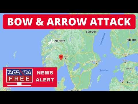 Bow and Arrow Attack in Kongsberg, Norway - LIVE BREAKING NEWS COVERAGE