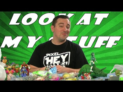 Look at my Stuff - Toyman Toy Show Haul 9-28-2014