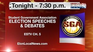 ELN: SGA Election Speeches & Debates 2014 - Live Broadcast