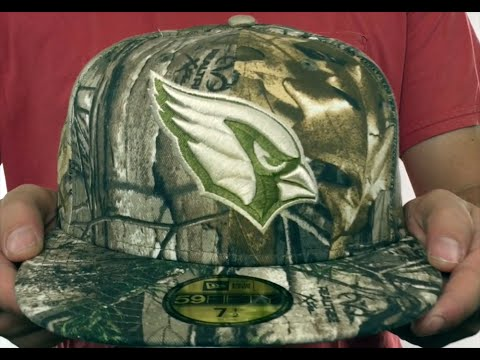 2e92da99f Cardinals  NFL TEAM-BASIC  Realtree Camo Fitted Hat by New Era - YouTube