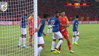 India vs China international friendly Highlights with Analysis