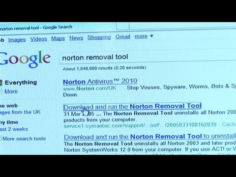 how do i remove norton 360 from my computer