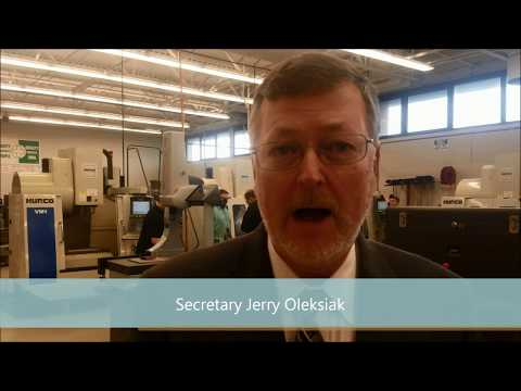State labor chief tours Erie County Technical School
