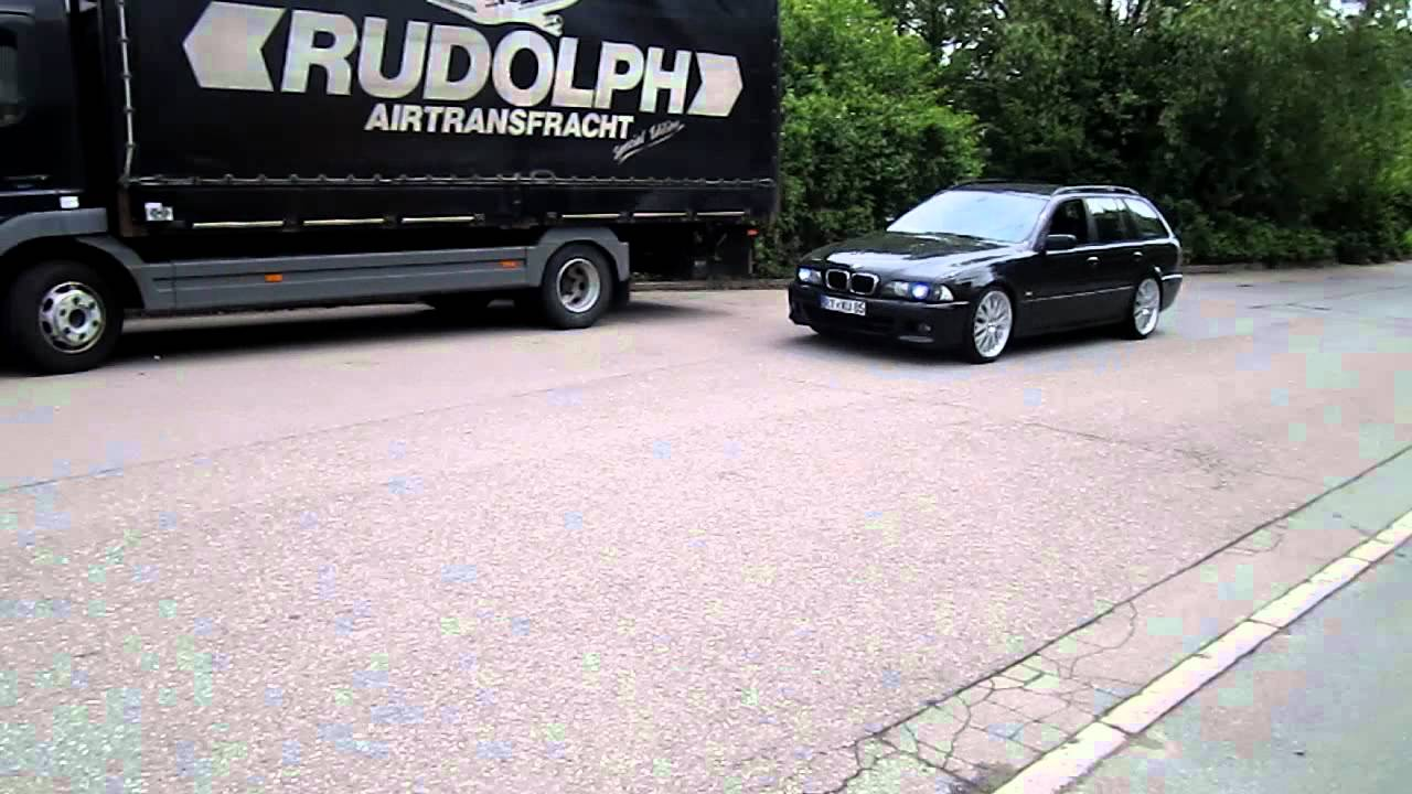 bmw e39 touring mit kahn rs x diamont 20 zoll alufelgen. Black Bedroom Furniture Sets. Home Design Ideas
