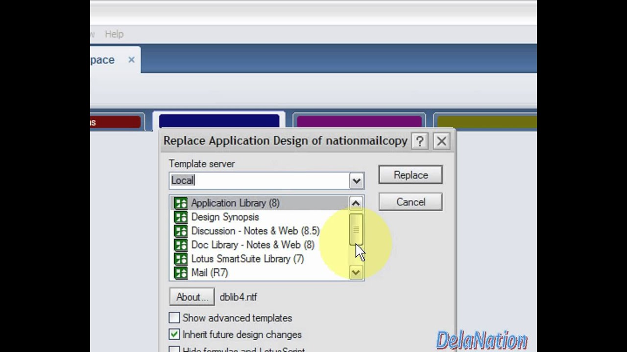 Lotus Notes 85 How To Fix Strange Looking Inbox Mailfile Views