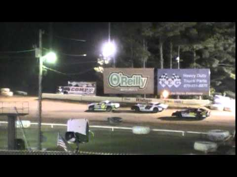 Crowley's Ridge Raceway Chris Sims driving car #87 Factory Stock Feature Race