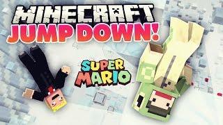 Minecraft JUMP DOWN - AUSRASTER mit Rewi! | unge