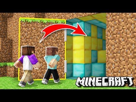 WE BUILT A SECRET BASE! Denis Vs Alex! (The Pals Minecraft)
