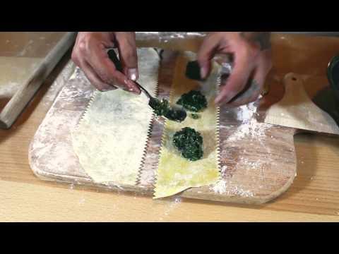 Homemade Vegetable Ravioli