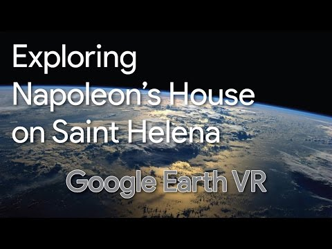 Exploring Napoleon's Longwood House on the Island of Saint Helena - Google Earth VR