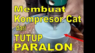 How to make DIY Air Compressor for Airbrush using PVC PIPE End