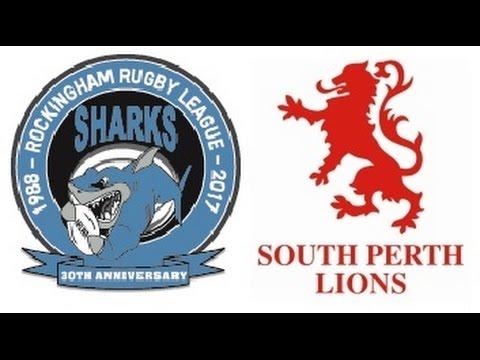 NRL WA 2017 Premiership - Sharks v Lions