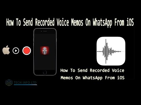 How To Send Recorded Voice Memos On WhatsApp From iOS