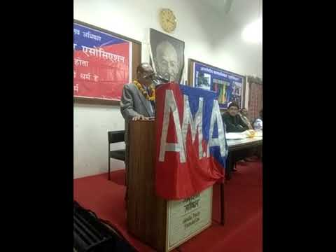 Chief Guest Mr.Justice Rajesh Tandon  lecture on International Human Rights Day 2017(2)
