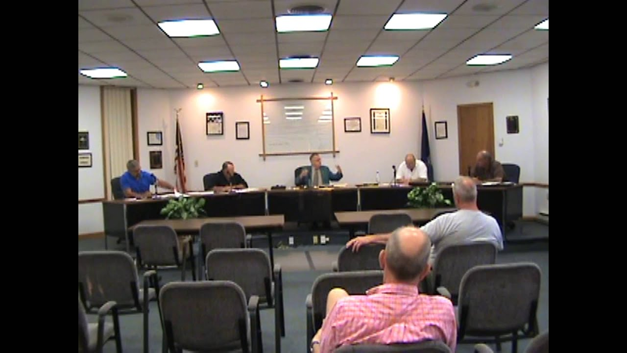 Rouses Point Village Board Meeting pt one  8-17-15