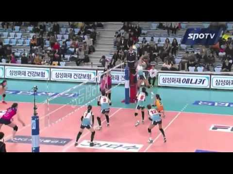 Sarah Pavan KOVO League [Round 3] 2014/15 Highlights