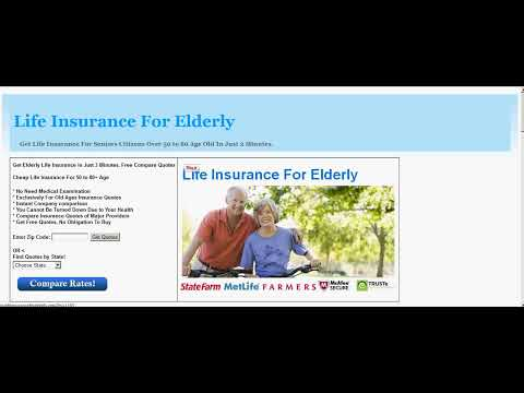 Cheap Life Insurance For Seniors Over 50 To 80 Quotes ...