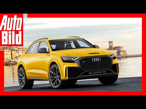 Zukunftsaussicht: Audi Q8 Sport Concept (2017)