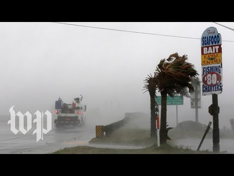 \'Rain continues to come\': Outer bands of Florence lash into N.C. coastline
