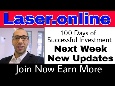 Laser.online|100 Days Of Successful Investment|next Week New Updates|Join Now Earn More | [English]