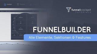 FunnelBuilder - Alle Elemente, Sektionen und Features (Funnel Software)