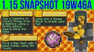 Minecraft 1.15 Snapshot 19w46a Crazy Fast Farming Exploit Fixed! New Advancements!