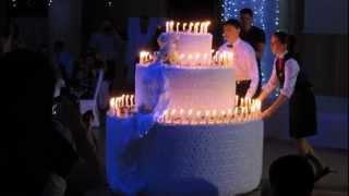 Свадебный супер - торт