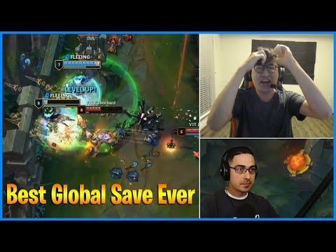 Incredible Hero Moment | Best Global Save Ever | LoL Daily Moments Ep 501