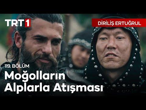 Diriliş Ertuğrul 119. bölüm - Moğolların Alplarla Atışması