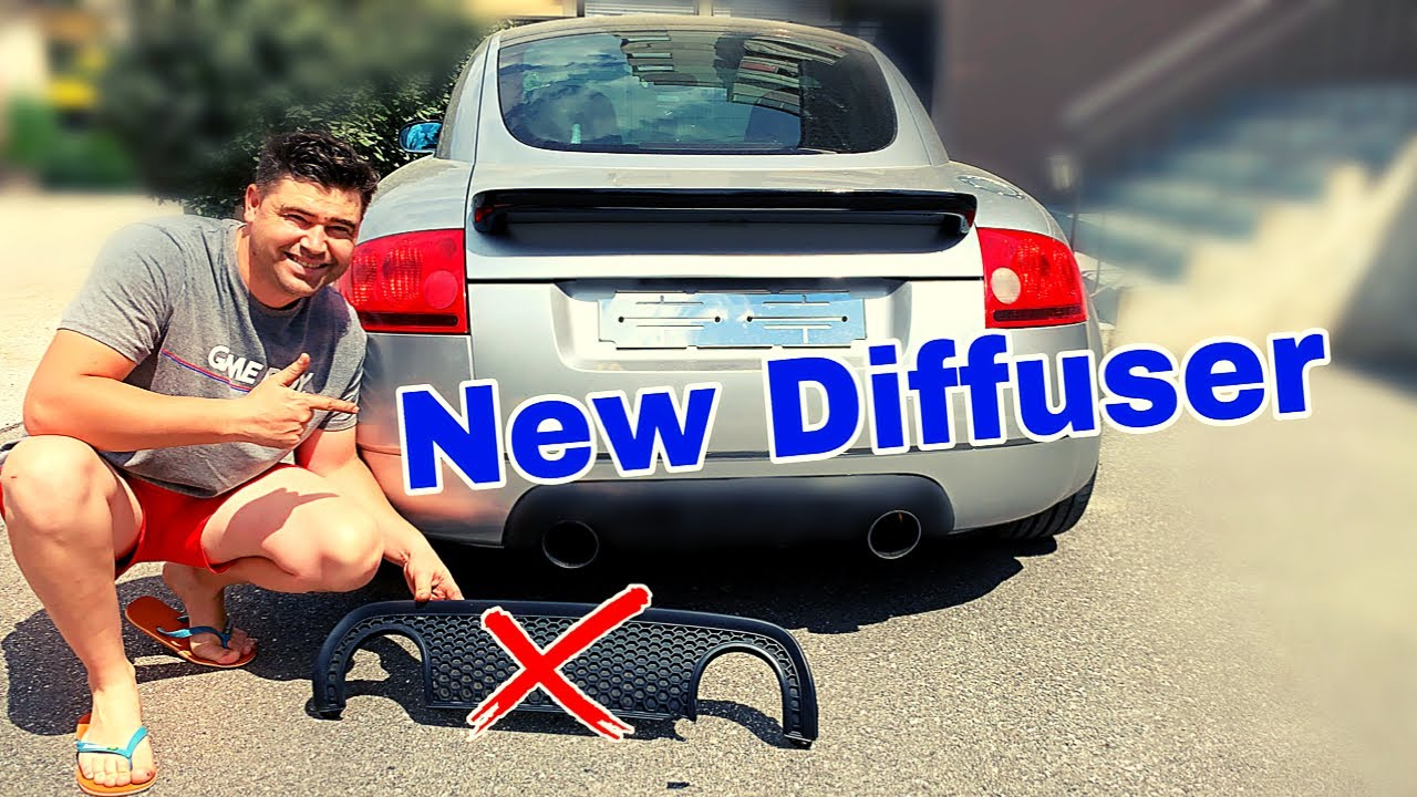 How to swap rear diffuser on a Audi TT mk1 - YouTube