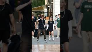 #Shorts Måneskin - Beggin' Street dancing in Kyiv, Ukraine